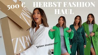 500€ Zara Herbst Haul 2021 | Mein FALL MUST-HAVES | Adorable Caro