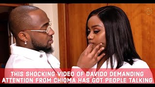 Davido's Naughty Demand Rejected by Chioma & Why People Are Reacting To The SadVideo