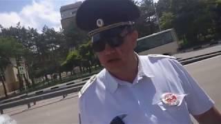 """Кисловодск. Сотрудник ГИБДД: """"Еб#ло разобью!"""""""