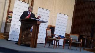 Sen. Frank Wagner (R) at Temple Rodef Shalom (5/21/17)