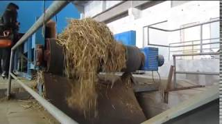wheat straw pulp making production line