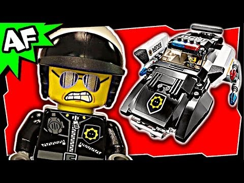 Vidéo LEGO The LEGO Movie 70802 : La poursuite de méchant flic