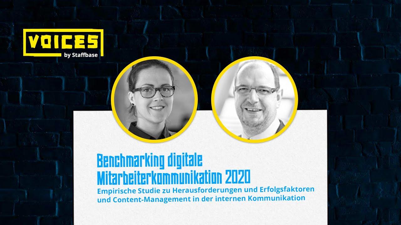 Benchmarking digitale Mitarbeiterkommunikation 2020 | Prof. Dr. Zerfass & Dr. Kiesenbauer