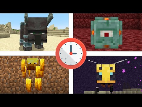 Minecraft, But I Morph As A Different Mob Every Minute