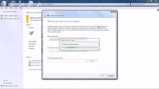 Windows 7 System Backup and Reovery
