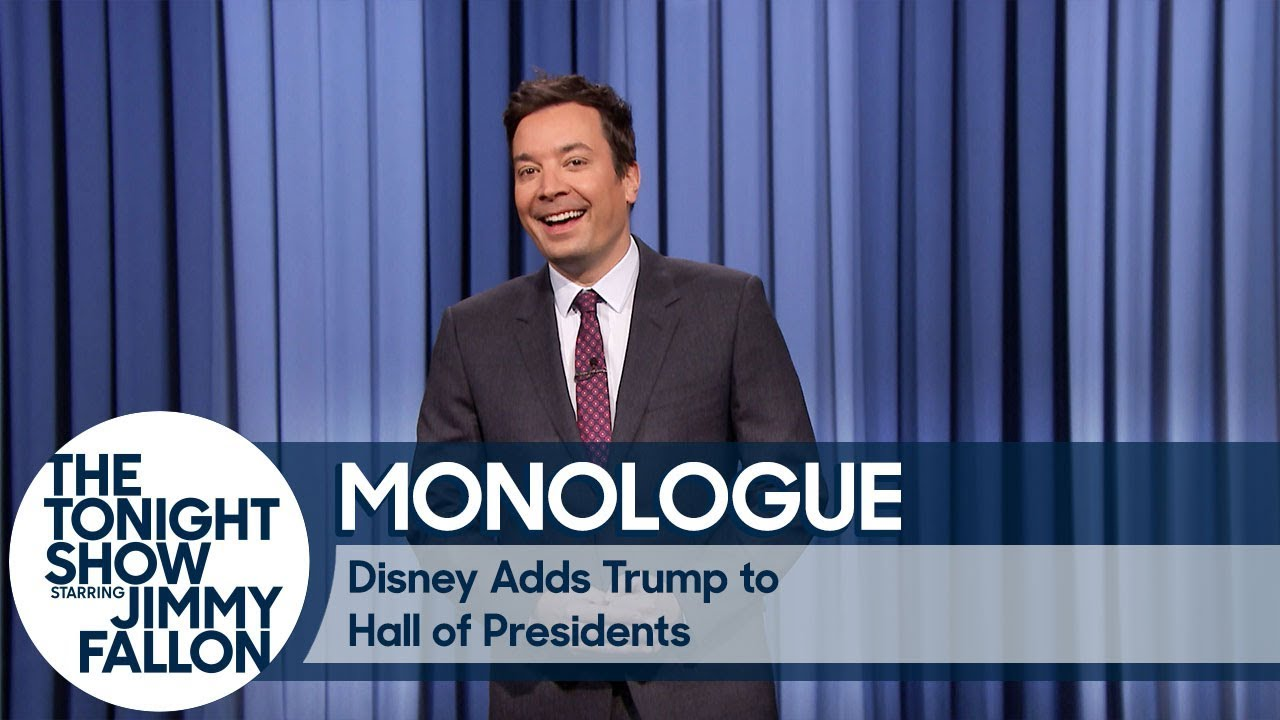 Disney Adds Trump to Hall of Presidents - Monologue thumbnail