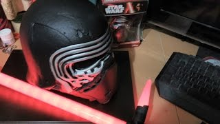Kylo Ren Disney Mask Mod to full helmet