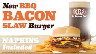 New! BBQ Bacon Slaw Burger Combos