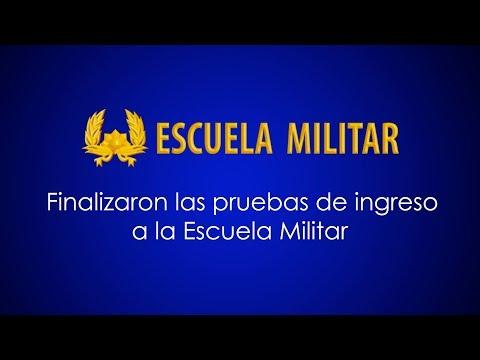 Finalizaron las pruebas de ingreso en la Escuela Militar