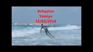 preview picture of video 'Israel Kiteboarding, Ashqelon feb 2014'