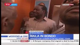 Section of Kikuyu elders meet Raila in Bondo