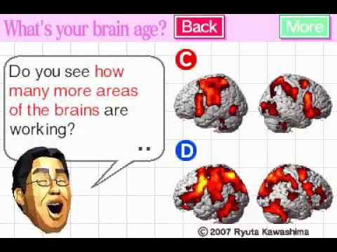 Brain Age 2: More Training in Minutes a Day! (NDS Gameplay)