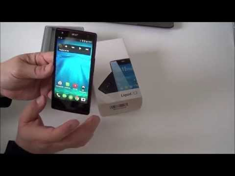 Acer Liquid E3 Plus Dual SIM Smartphone Android 4.4.2 Update Test Review 4.7 Zoll Gaming Unboxing