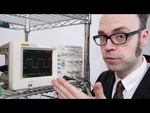 1 GS/s 50MHz Digital Storage Oscilloscope - Rigol DS1052E