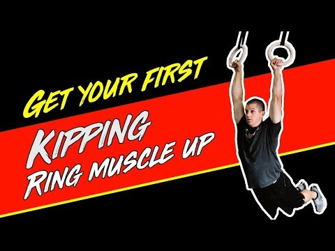 How To Get Your FIRST Kipping Ring Muscle Up For CrossFit | WODprep ✨