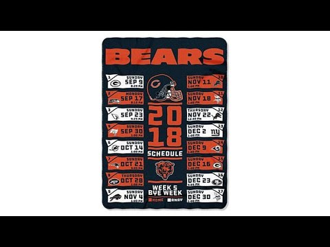 Officially Licensed NFL Schedule Fleece Throw by Northwe...