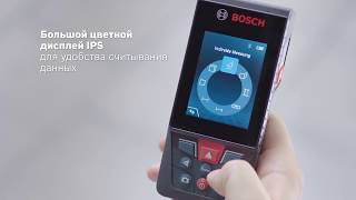 Обзор Лазерный дальномер Bosch GLM 120 C Professional