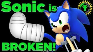 Game Theory: Can Sonic SURVIVE His Own Speed? (Sonic the Hedgehog) - dooclip.me