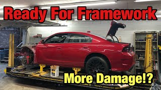 Rebuilding a Wrecked 2016 Dodge Hellcat part 5