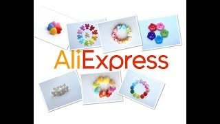 Пуговки с   Aliexpress