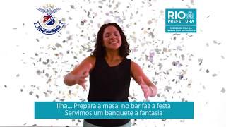 Samba-enredo da União da Ilha do Governador, o último do Grupo Especial interpretado em Língua Brasi