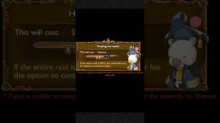 Final Fantasy Record Keeper Raid Conquer the Behemoth Hard Mode