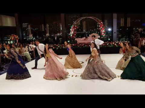 Download BEST INDIAN BOLLYWOOD WEDDING RECEPTION DANCE 2018 HD Video