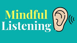 5 MIN Mindful Listening | Exercises | Guided