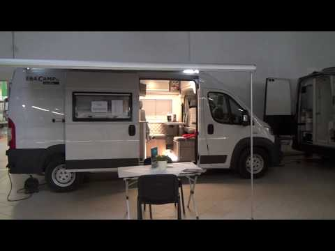 Ebacamp Fiat Ducato camper van conversion