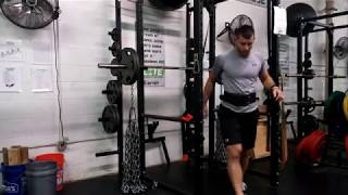 225 Pound Squats With 160 Pounds of Chains