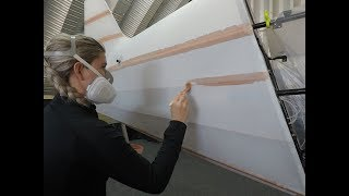 Fabric Covering Christen Eagle II Biplane Fuselage using Poly Fiber System