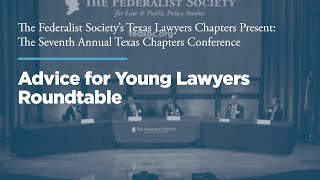 Click to play: Advice for Young Lawyers Roundtable