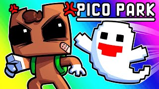 Pico Park Funny Moments - Morons Try to Sneak Past Ghosts!