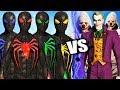 Team Spider Man Anti Oak Suits vs Joker and Joker Thugs Epic Battle