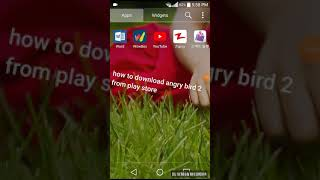 How To Download Angry Bird 2 From Play Store
