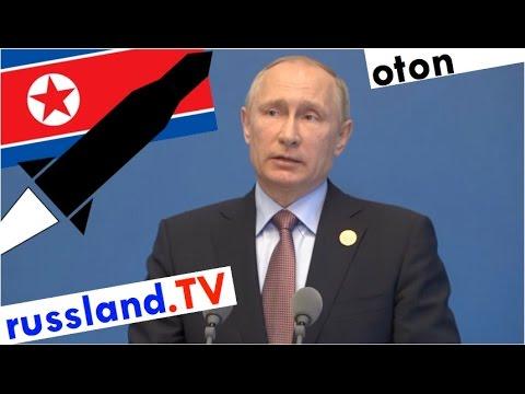 Putin zu Nordkorea´s Raketenstart auf deutsch [Video]