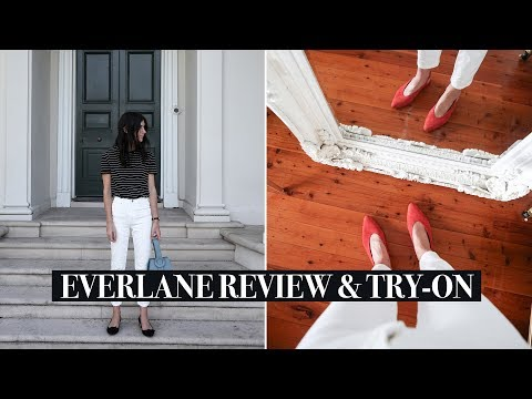 Everlane Review & Try-On Part 2 – Tops, Denim, Shoes & Dresses | Mademoiselle