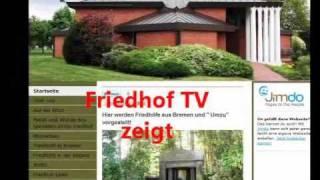 preview picture of video 'Katholischer Friedhof Bremen-Blumenthal, germany'