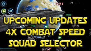 Star Wars: Galaxy Of Heroes - 4x Combat Speed & Saving Squad Configurations