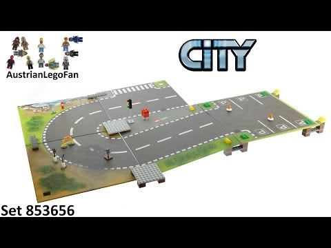 Vidéo LEGO City 853656 : Tapis de jeu LEGO City