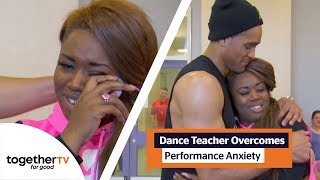 Ashley Banjo Helps Dance Teacher Tackle Her Performance Anxiety | Ashley Banjos Big Town Dance