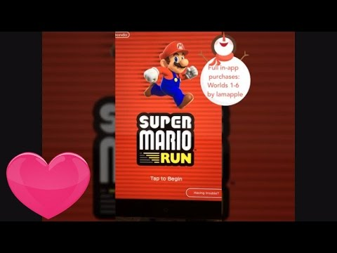 ★Super Mario Run Hack : full 6 world $10 pack for free ( no Jaibreak required ) ★