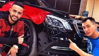 ЧТО ДЕЛАТЬ?! S-Class S560 Гусейна Гасанова: красный хром? Mercedes за 8 млн - теперь время тюнинга
