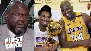 'Me and Kobe had tension all the time, but we respected each other'- Shaq on Harden-CP3 | First Take