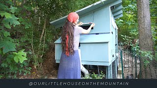 ITS MOVING DAY || GARDEN UPDATE || LITTLE HOUSE