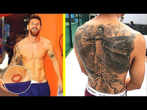 Famous Footballers With WEIRD Tattoos!