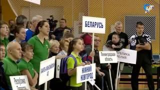 В Великом Новгороде стартовали соревнования по настольному теннису среди инвалидов