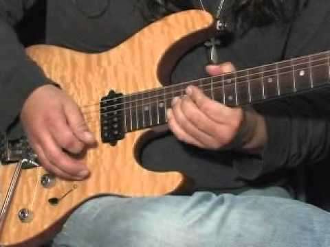 Troy Seele: Lead Guitarist, Teaches two guitar licks
