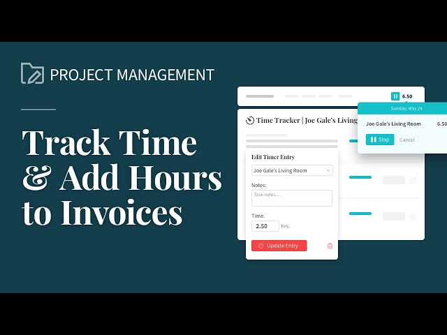 Track Time & Add Hours to Invoices