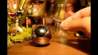[miniature]Make a Perfect Polished Aluminum Foil Ball[stopmotion] - Video Youtube